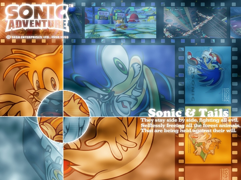Games Wallpaper: Sonic and Tails