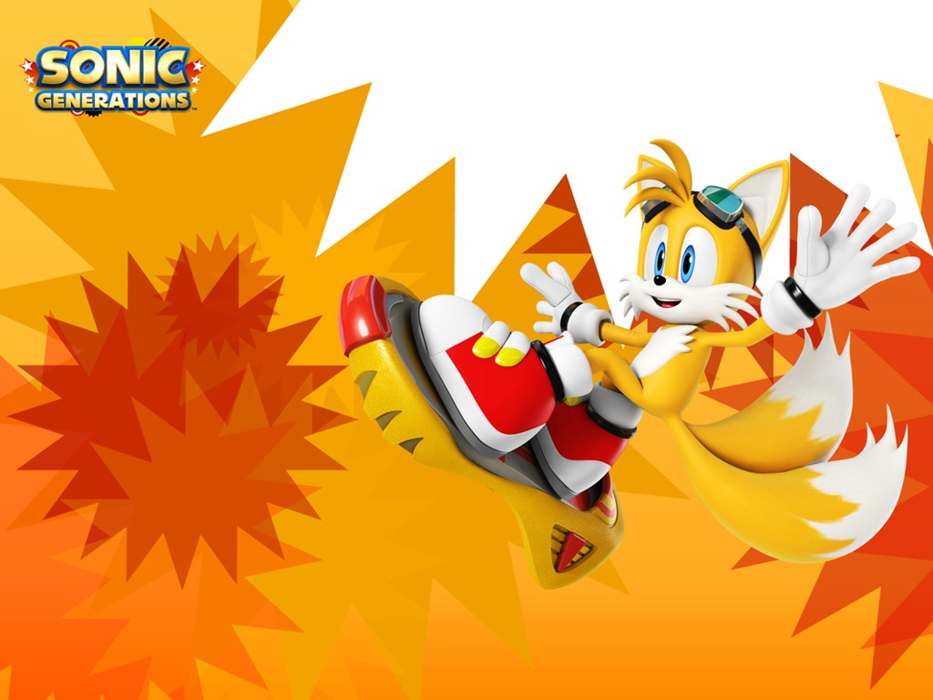 Games Wallpaper: Sonic Generations - Tails