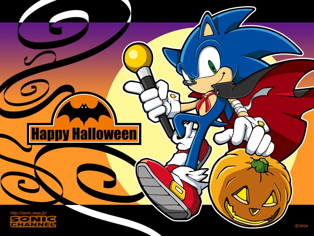 Games Wallpaper: Sonic - Halloween