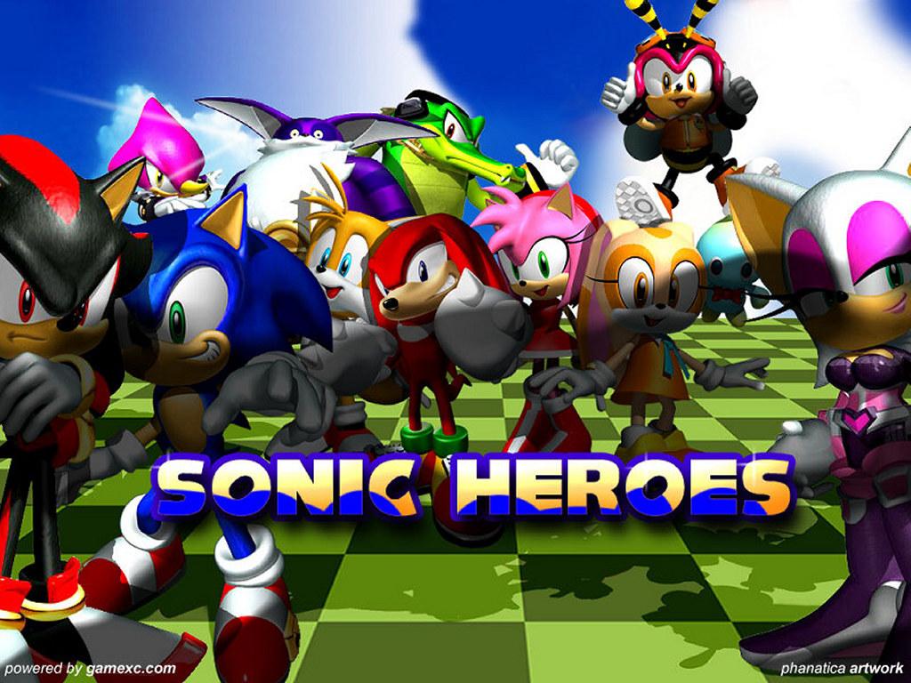 Games Wallpaper: Sonic Heroes