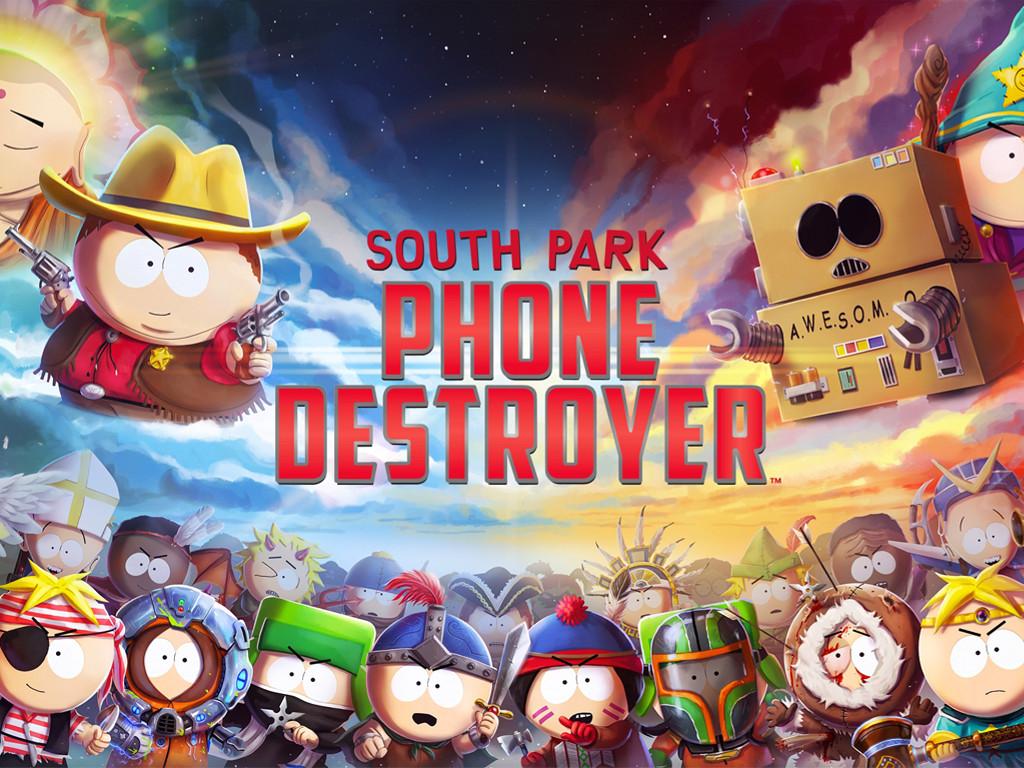 Games Wallpaper: South Park - Phone Destroyer