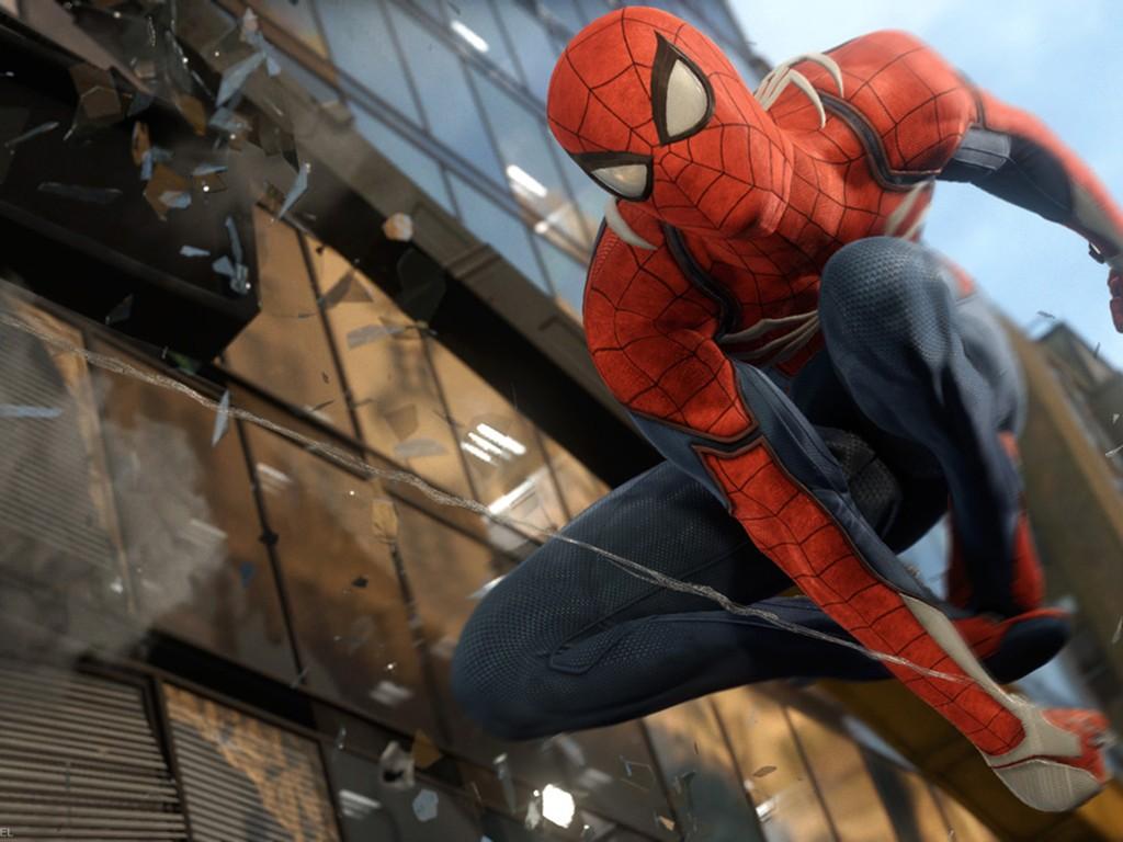 Games Wallpaper: Spider-Man (PS4)