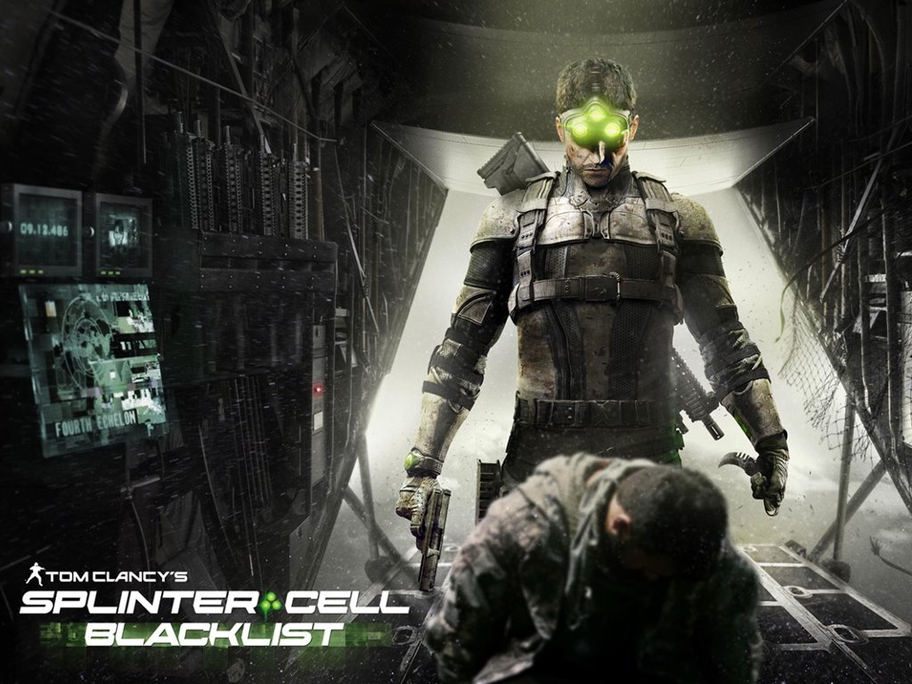 Games Wallpaper: Splinter Cell - Blacklist