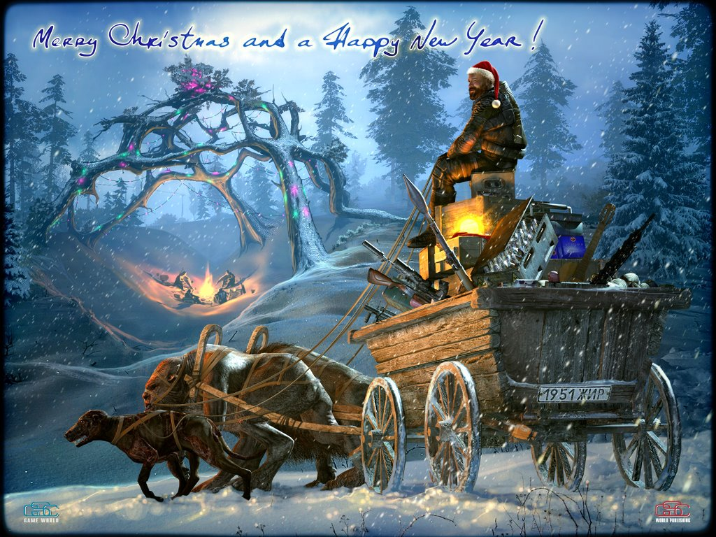 Games Wallpaper: S.T.A.L.K.E.R. - Christmas