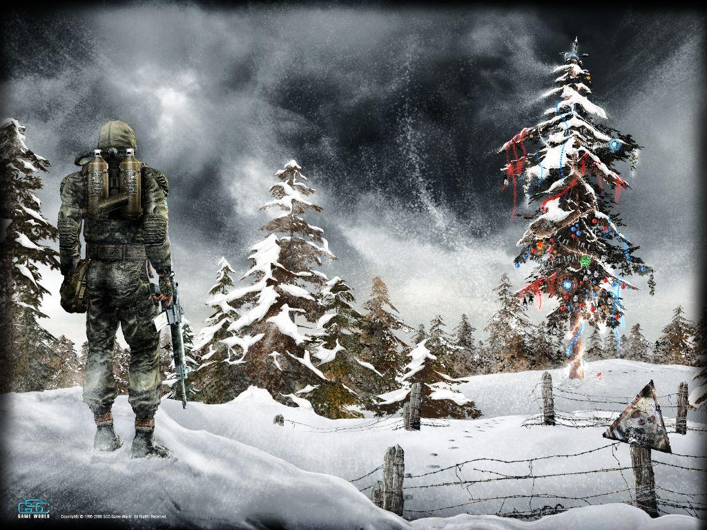 Games Wallpaper: S.T.A.L.K.E.R. - Christmas