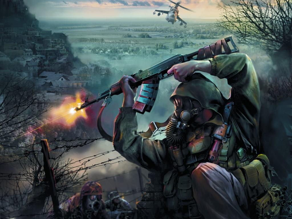 Games Wallpaper: S.T.A.L.K.E.R. - Clear Sky