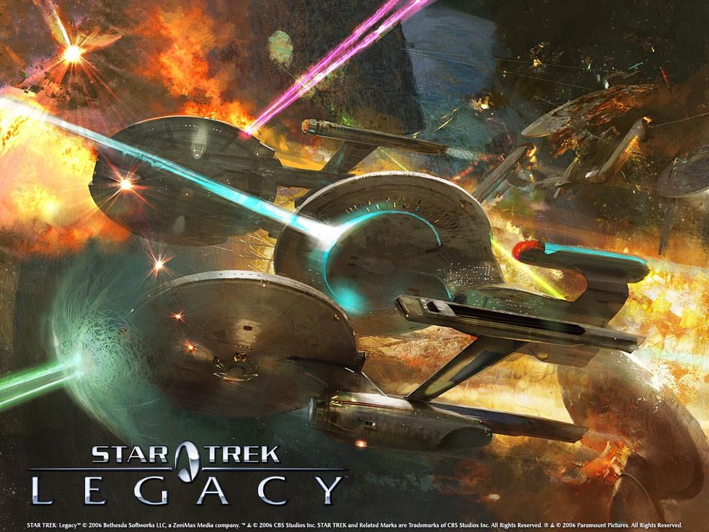 Papel de Parede Gratuito de Jogos : Star Trek - Legacy