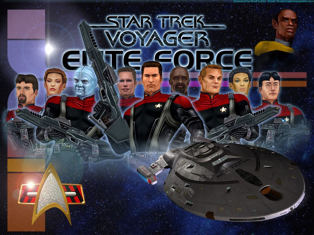 Games Wallpaper: Star Trek Voyager - Elite Force