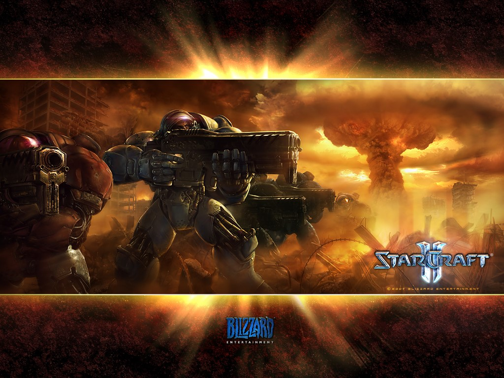 Games Wallpaper: Starcraft 2