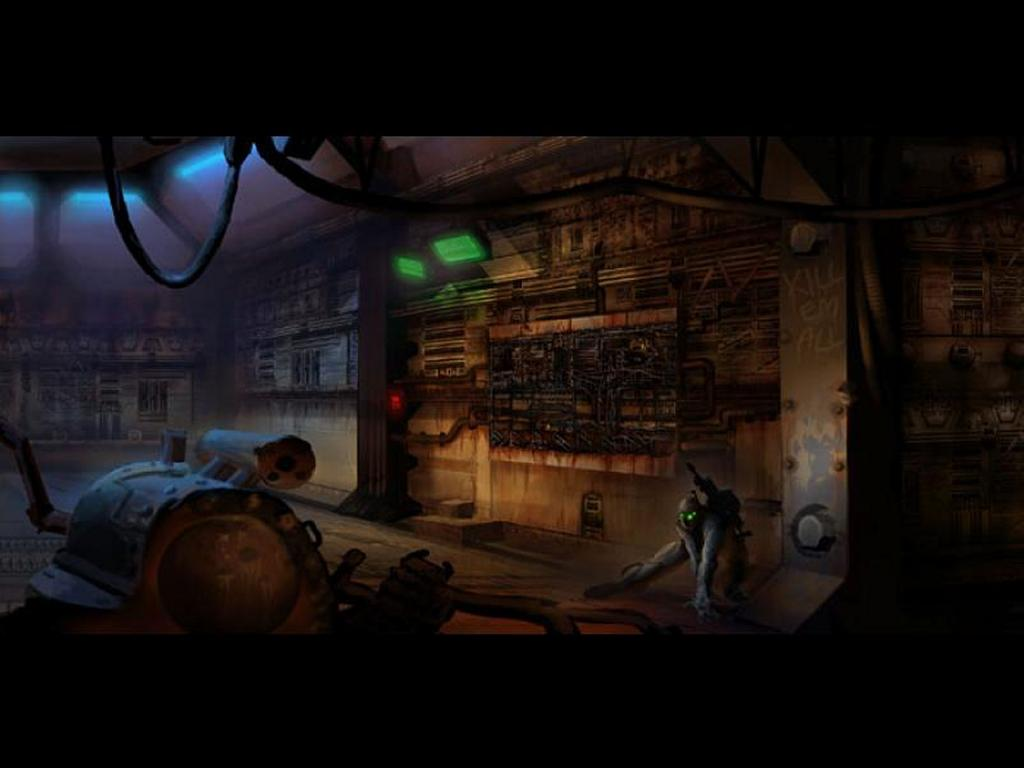 Games Wallpaper: Starcraft Ghost - Artwork