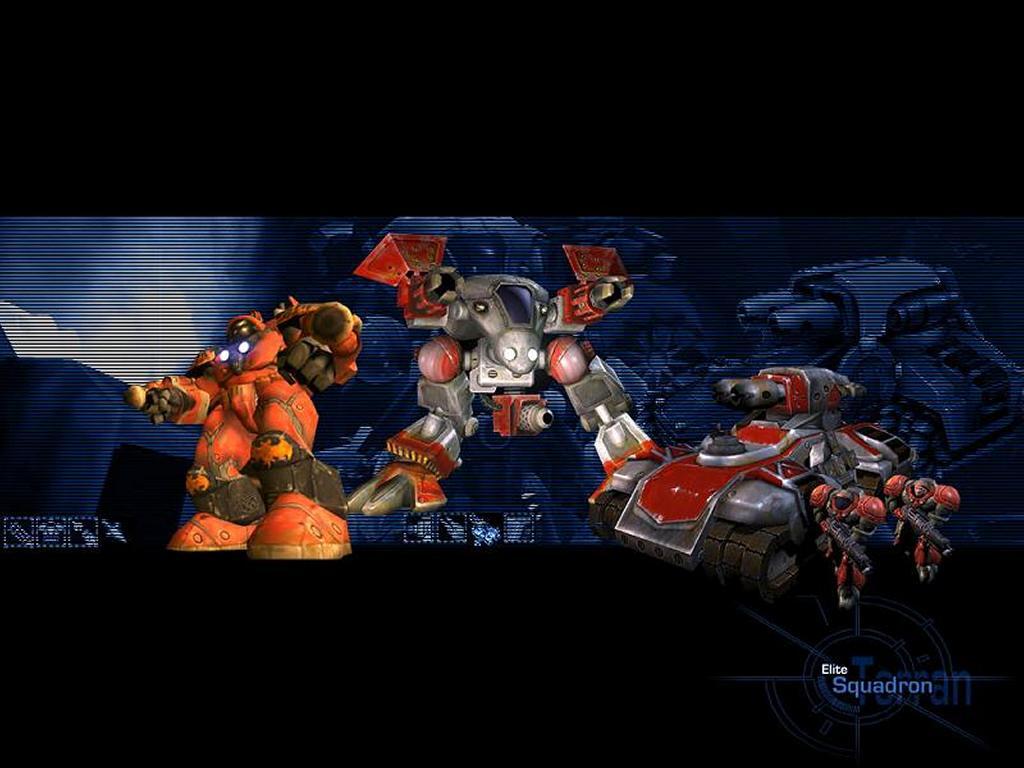 Games Wallpaper: Starcraft Ghost - Elite Squadron