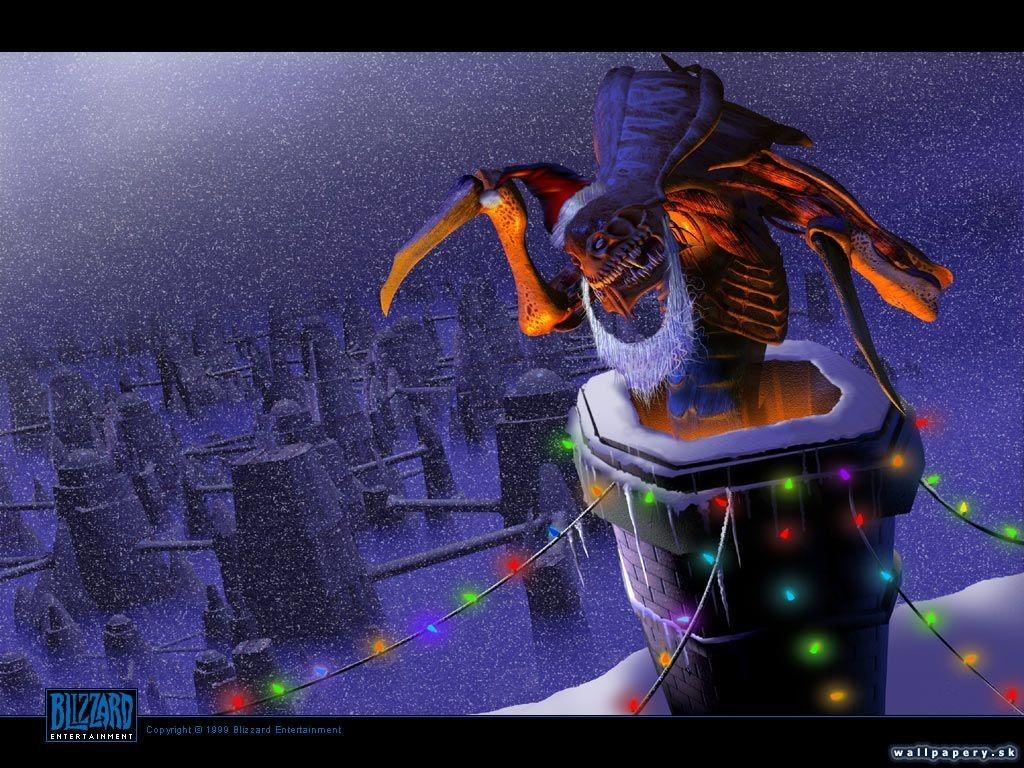 Games Wallpaper: Starcraft - Christmas