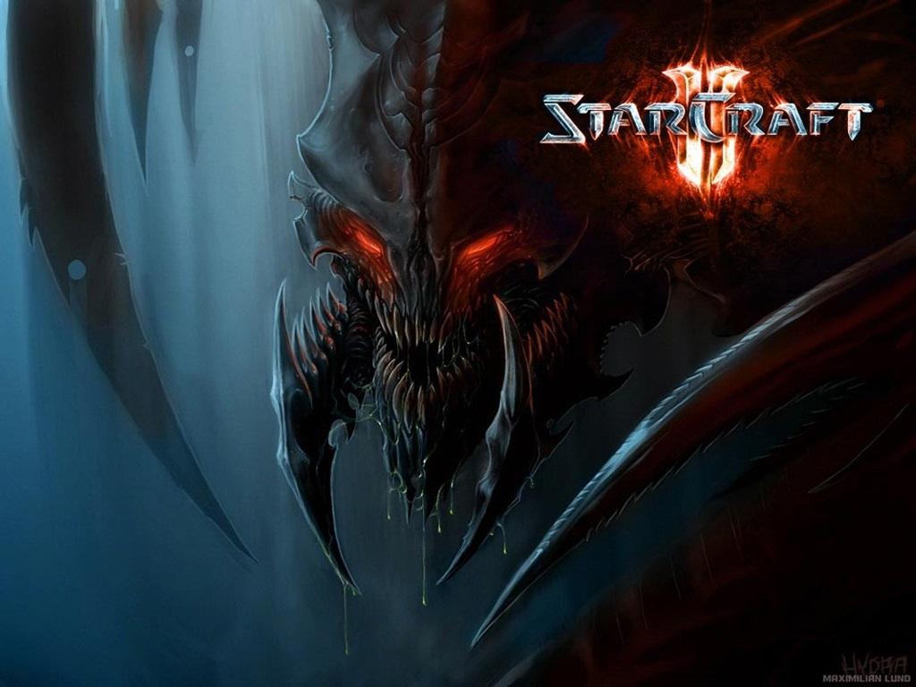Games Wallpaper: Starcraft 2 - Hydralisk