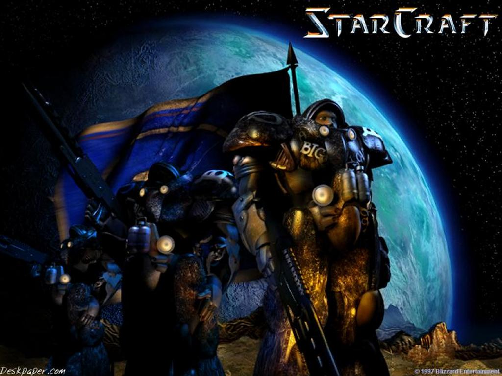 Games Wallpaper: Starcraft - Terran
