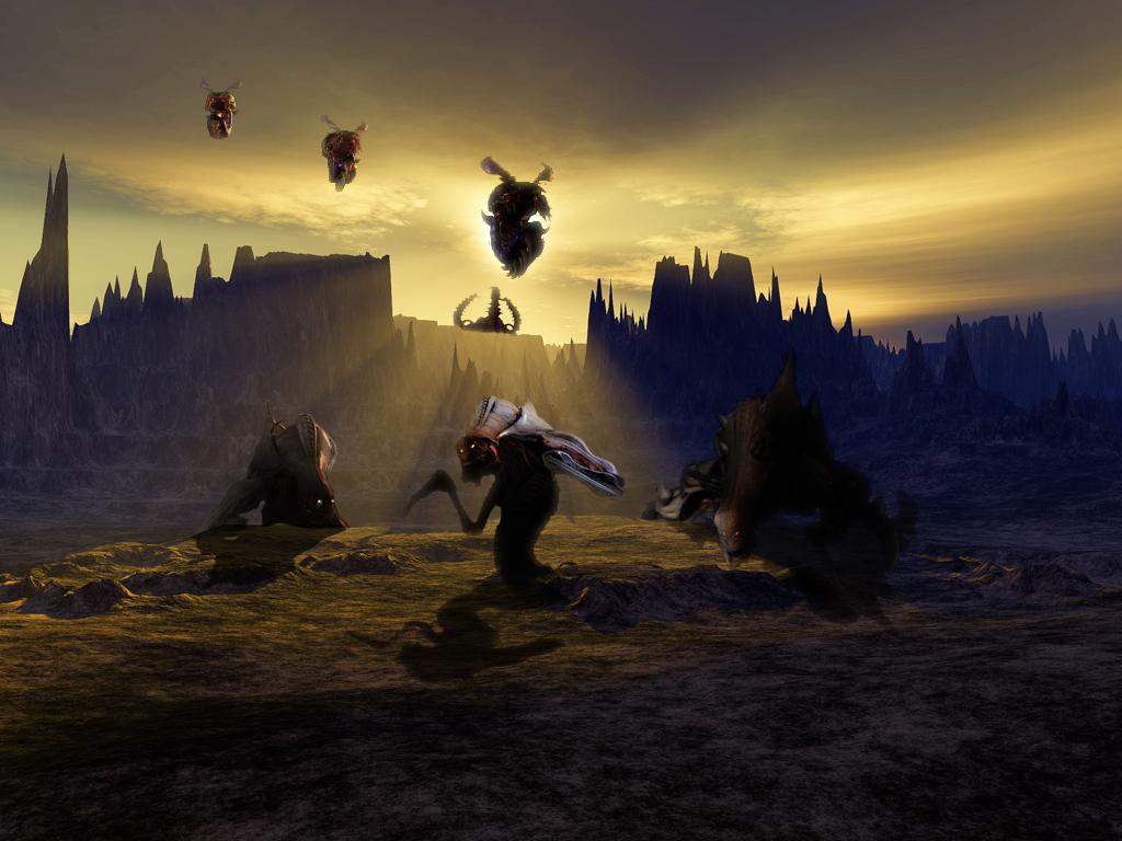 Games Wallpaper: Starcraft Zerg