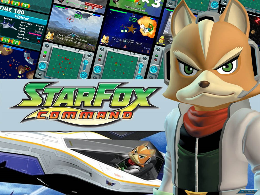 Games Wallpaper: Starfox Command