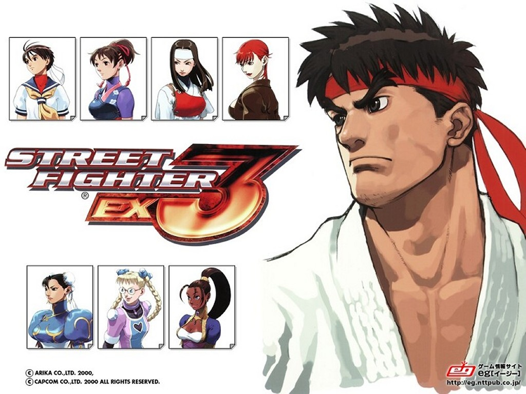 Games Wallpaper: Street Fighter EX3