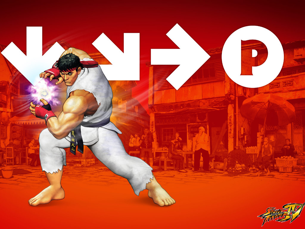 Games Wallpaper: Street Fighter IV