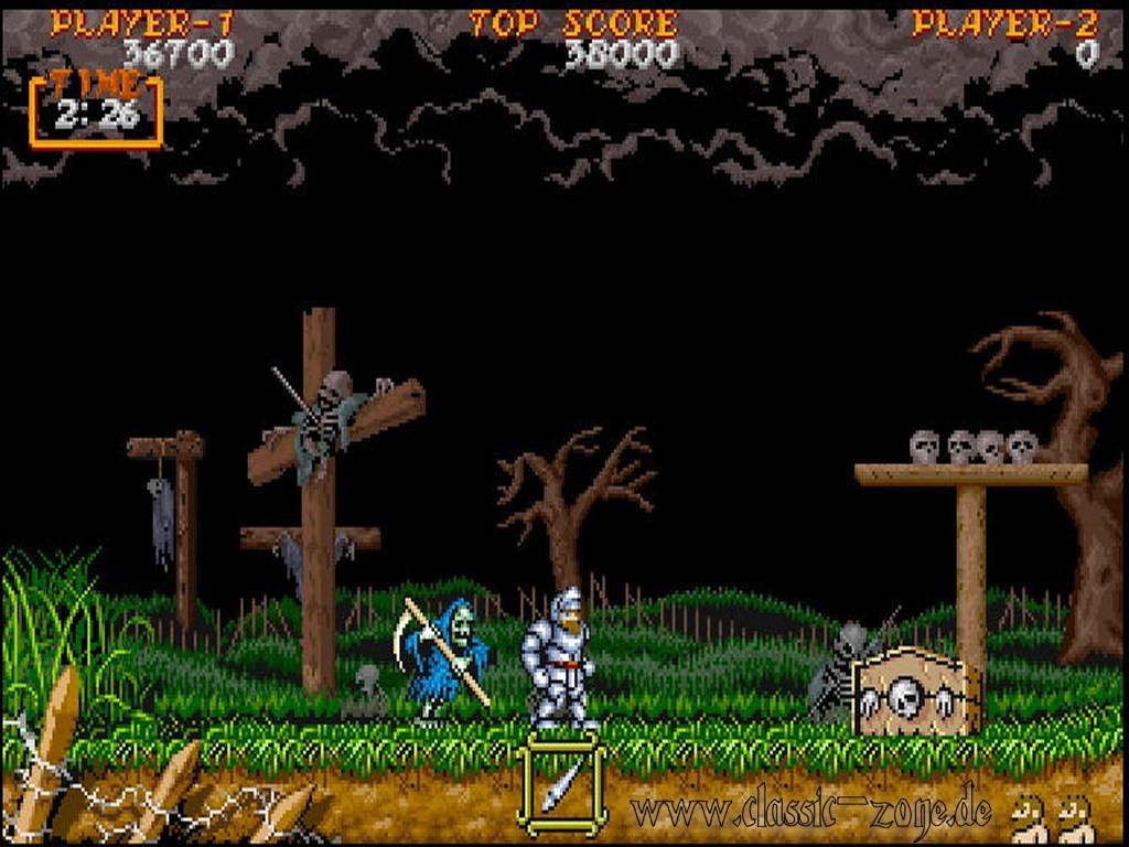 Games Wallpaper: Super Ghouls N Ghosts 3