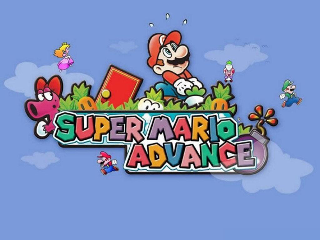 Games Wallpaper: Super Mario - Advance