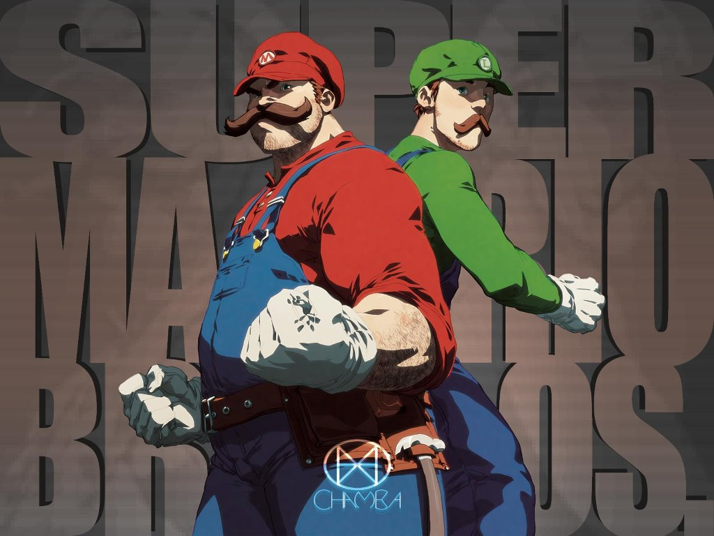 Games Wallpaper: Super Mario Bros - Fan Art