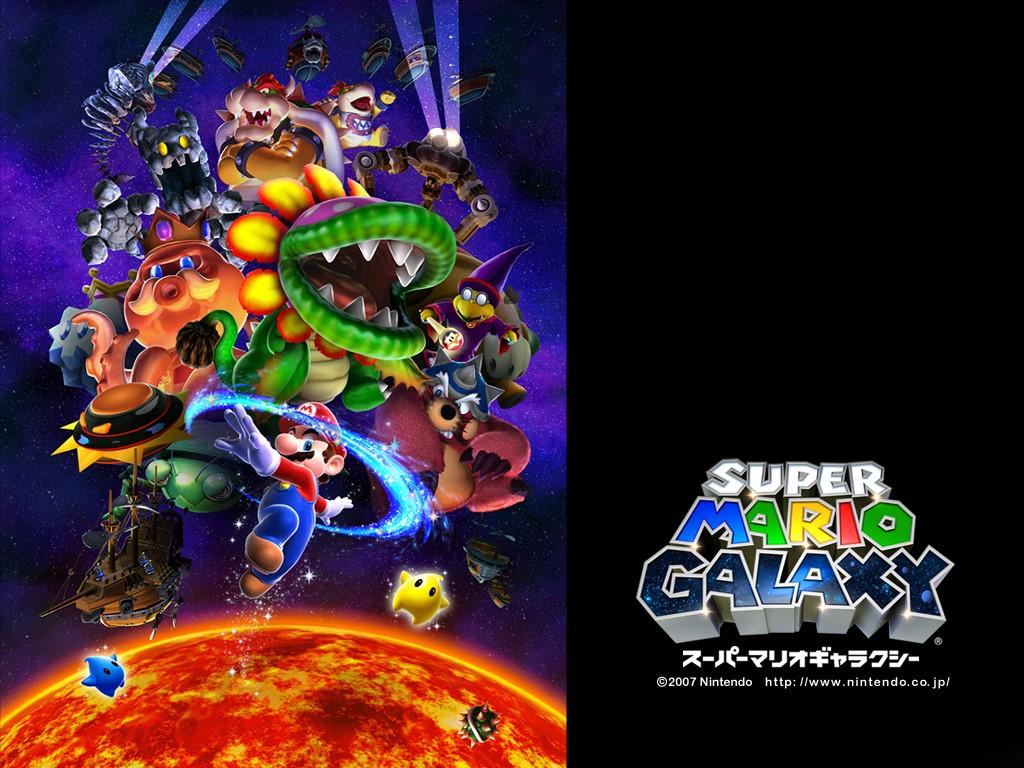 Games Wallpaper: Super Mario Galaxy