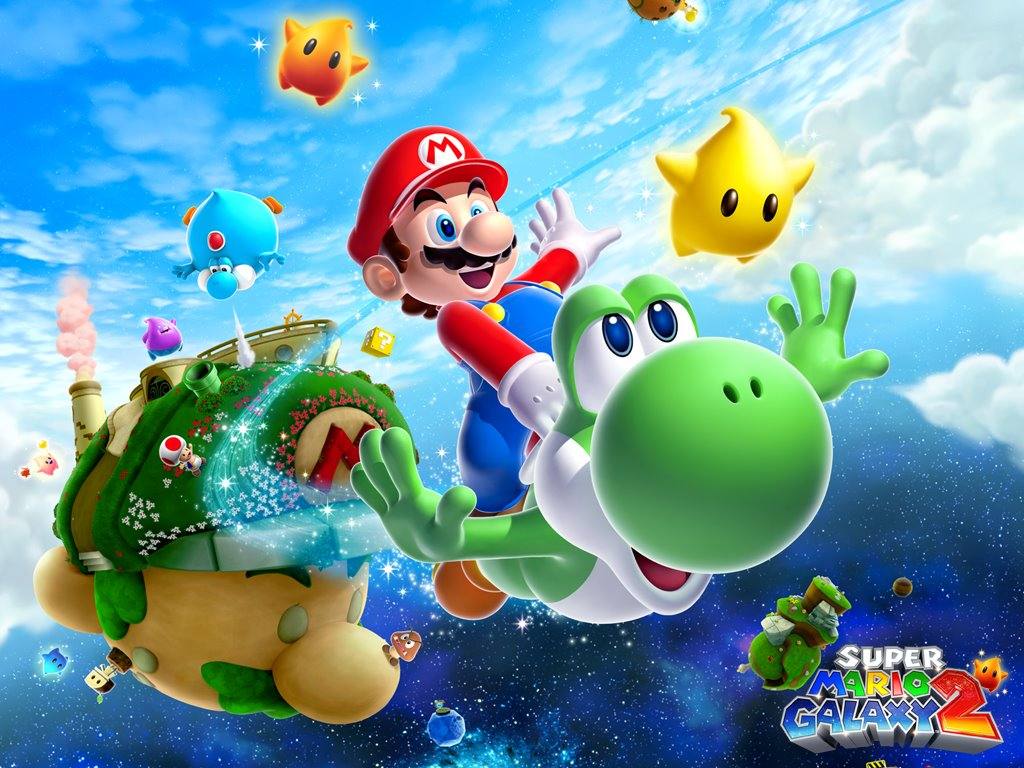 Games Wallpaper: Super Mario Galaxy 2