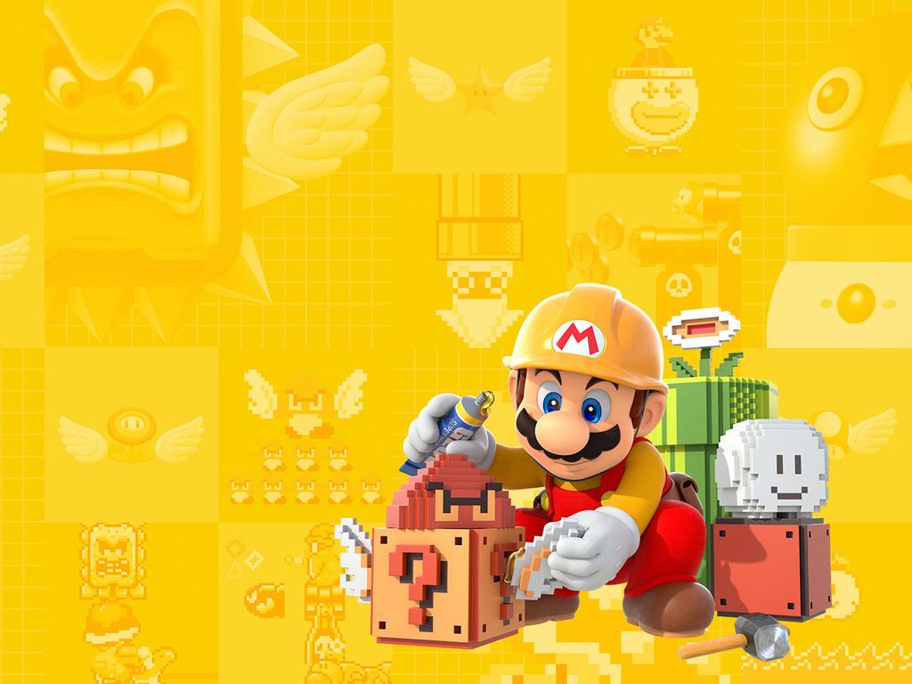 Games Wallpaper: Super Mario Maker