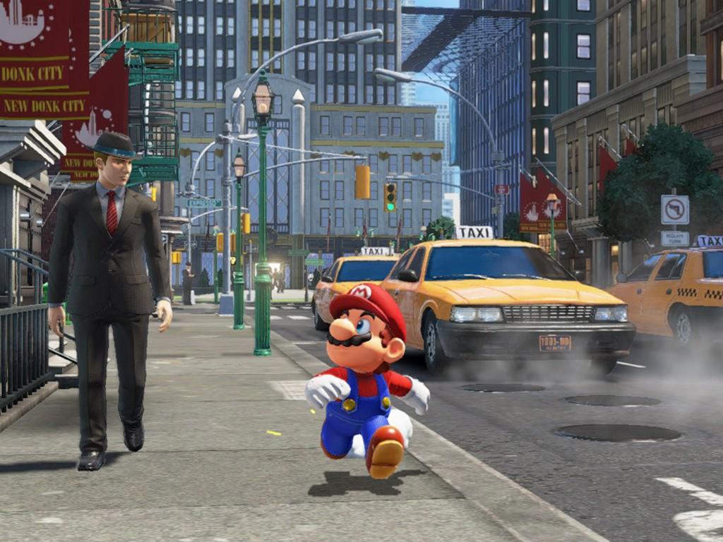 Games Wallpaper: Super Mario Odyssey