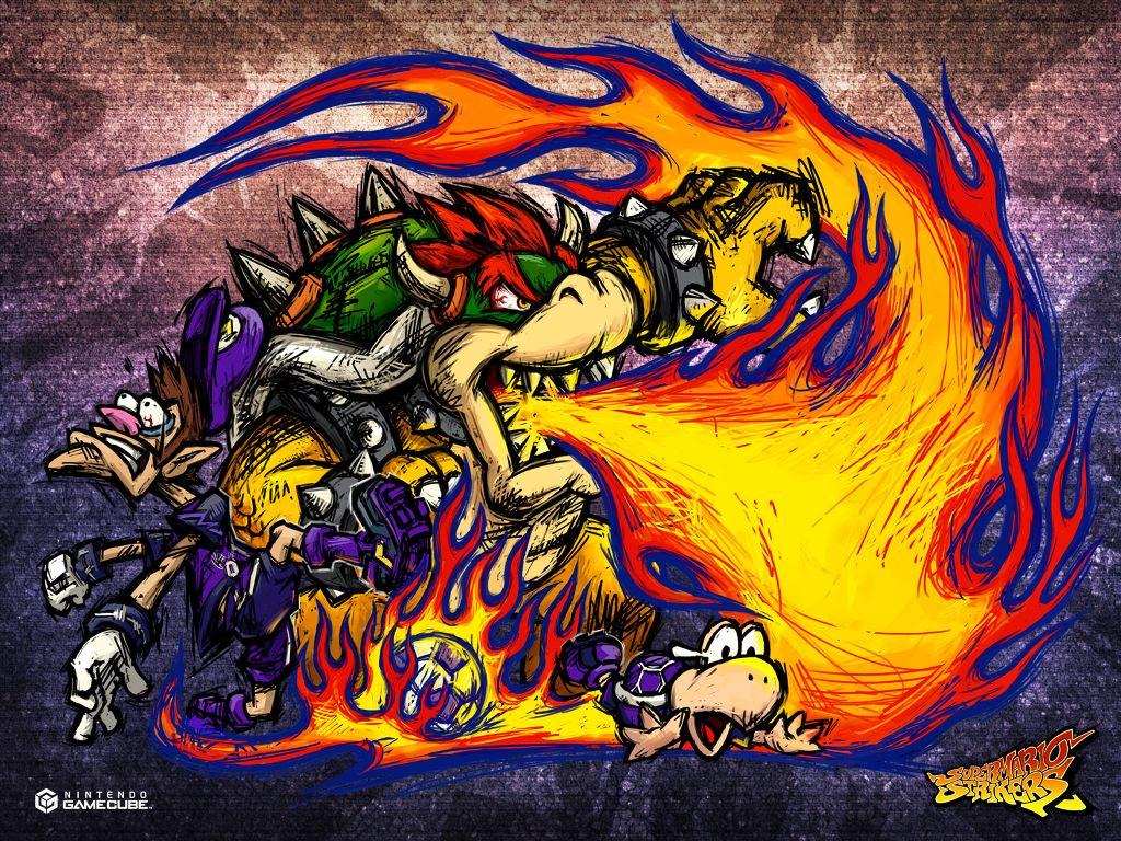 Games Wallpaper: Super Mario Strikers
