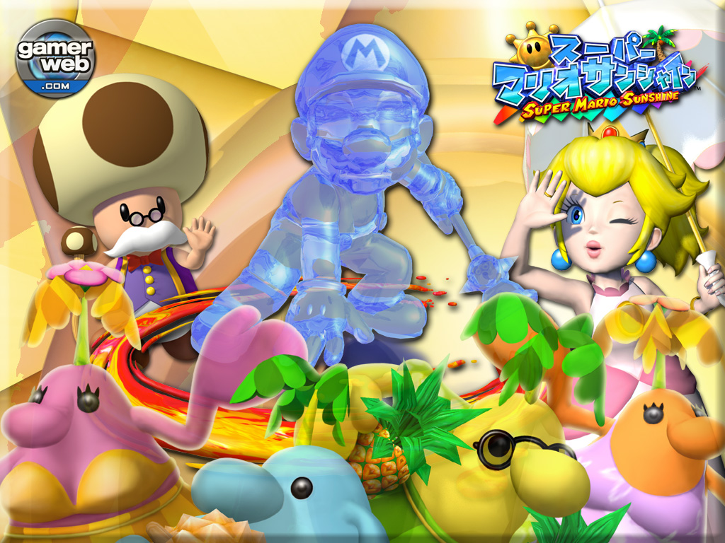 Games Wallpaper: Super Mario Sunshine