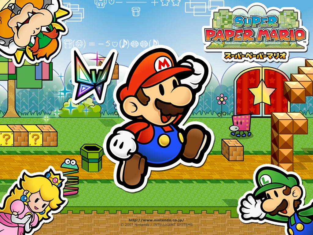 Games Wallpaper: Super Paper Mario