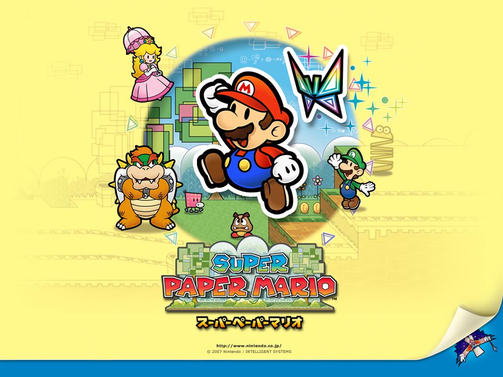 Games Wallpaper: Super Paper Mario