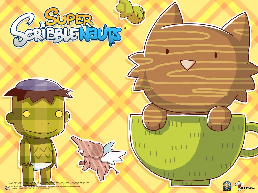 Games Wallpaper: Super Scribblenauts