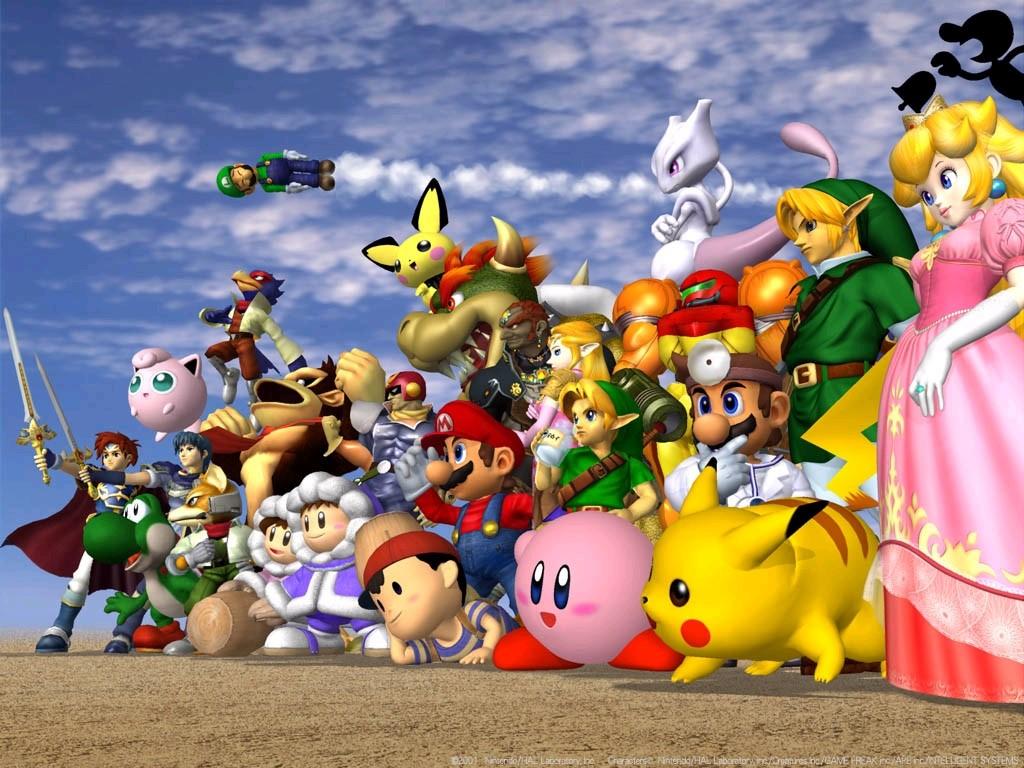 Games Wallpaper: Super Smash Bros