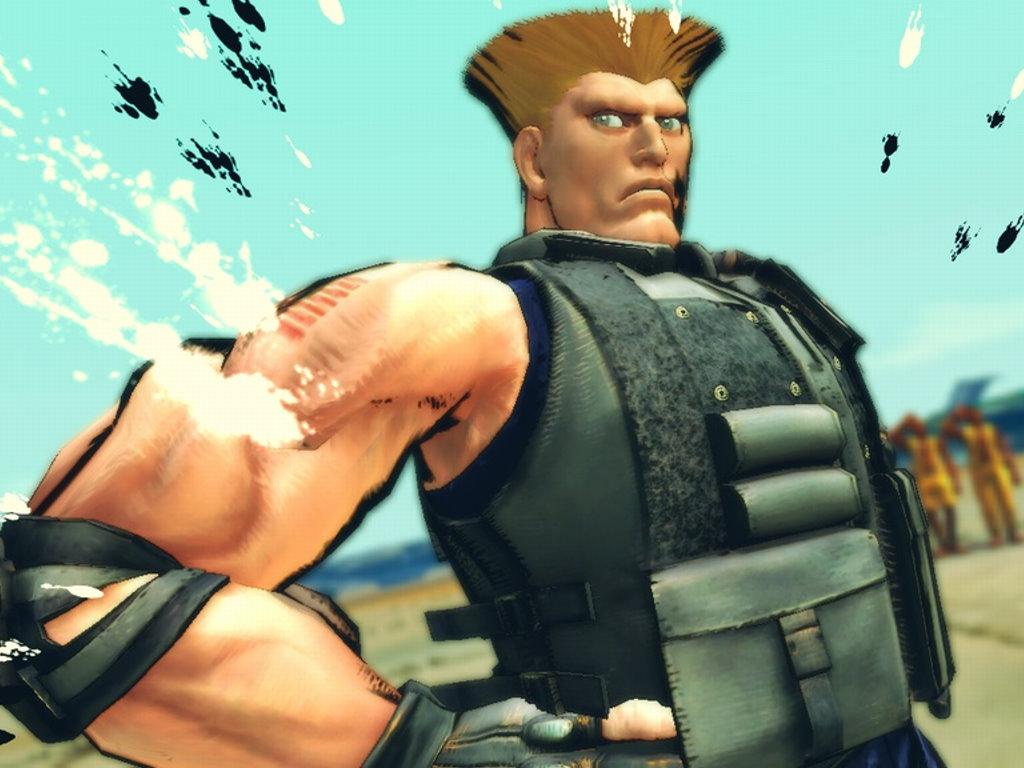 Games Wallpaper: Super Street Fighter 4 - Guile