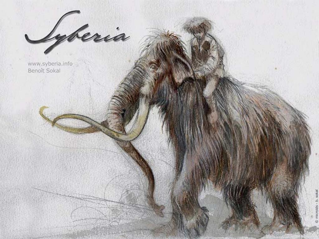 Games Wallpaper: Syberia - Mammoth
