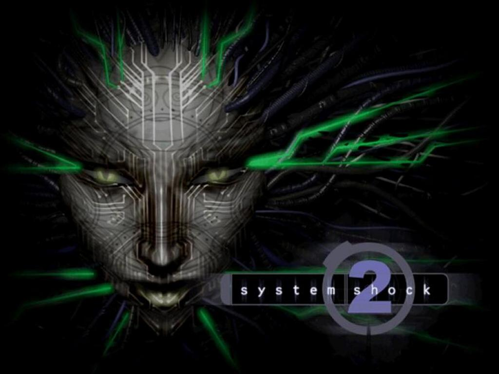 Games Wallpaper: System Shock 2 - Shodan