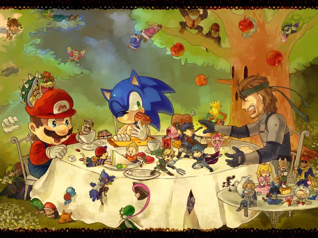 Games Wallpaper: Tea and Games