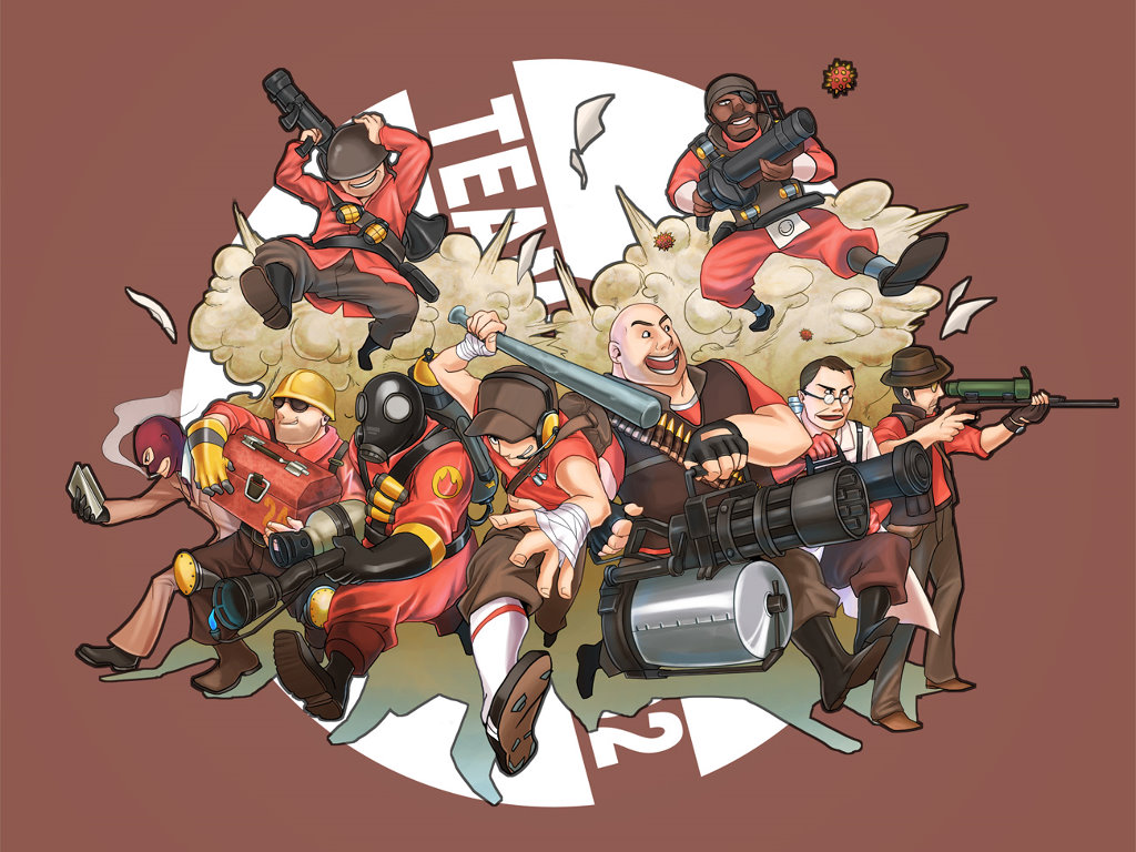 Games Wallpaper: Team Fortress 2