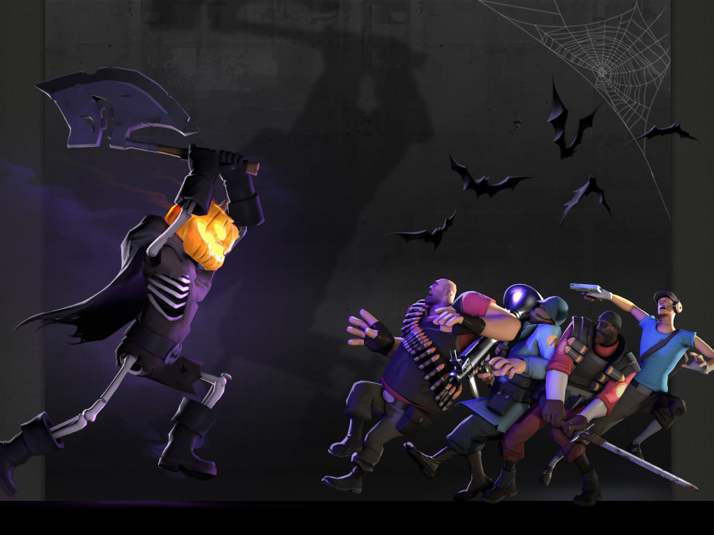 Games Wallpaper: Team Fortress 2 - Halloween