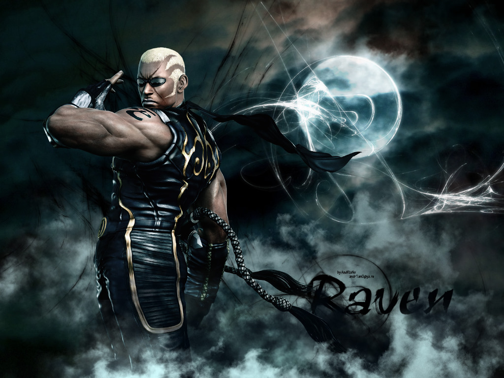 Games Wallpaper: Tekken 6 - Raven