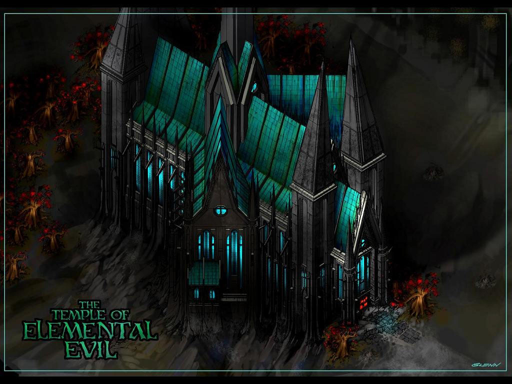 Games Wallpaper: The Temple of Elemental Evil