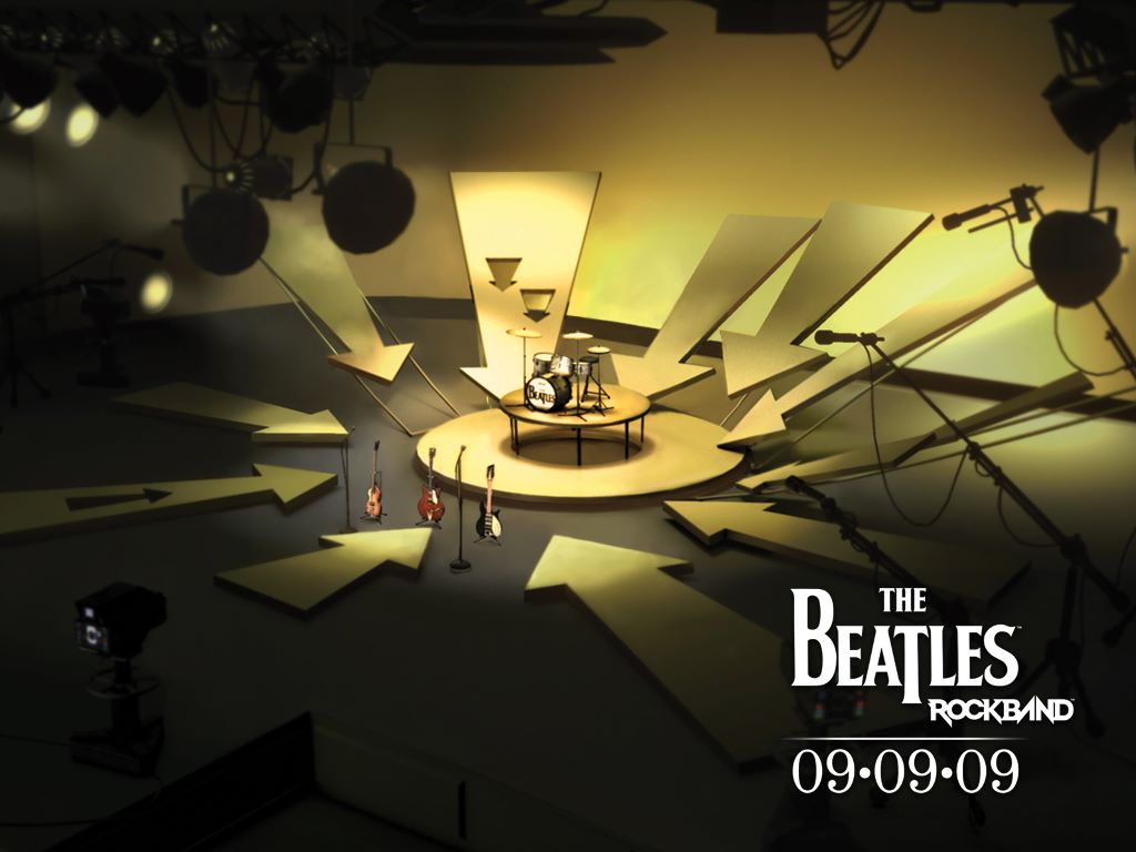 Games Wallpaper: The Beatles - Rock Band
