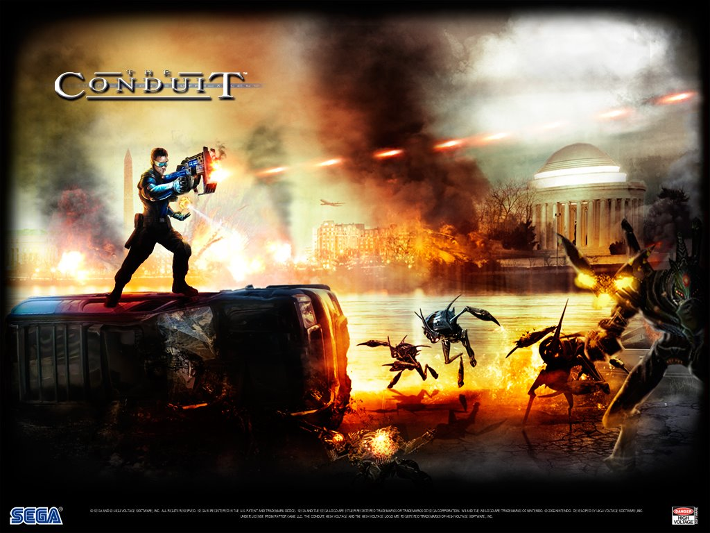Games Wallpaper: The Conduit