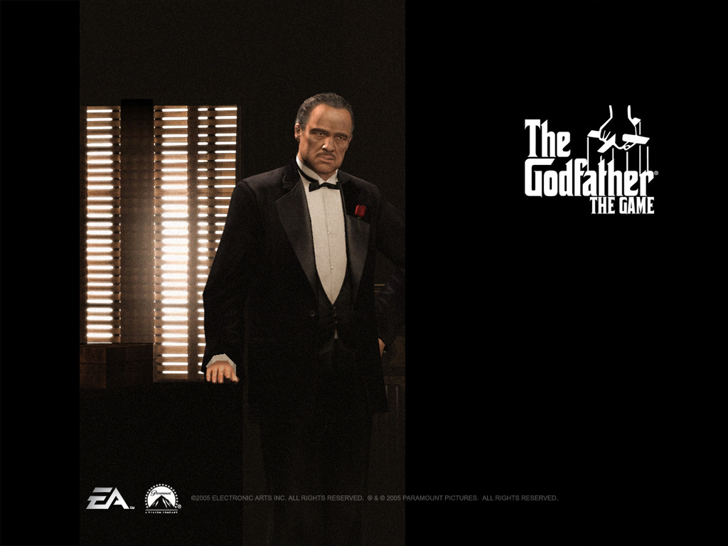 Games Wallpaper: The Godfather - Don Corleone
