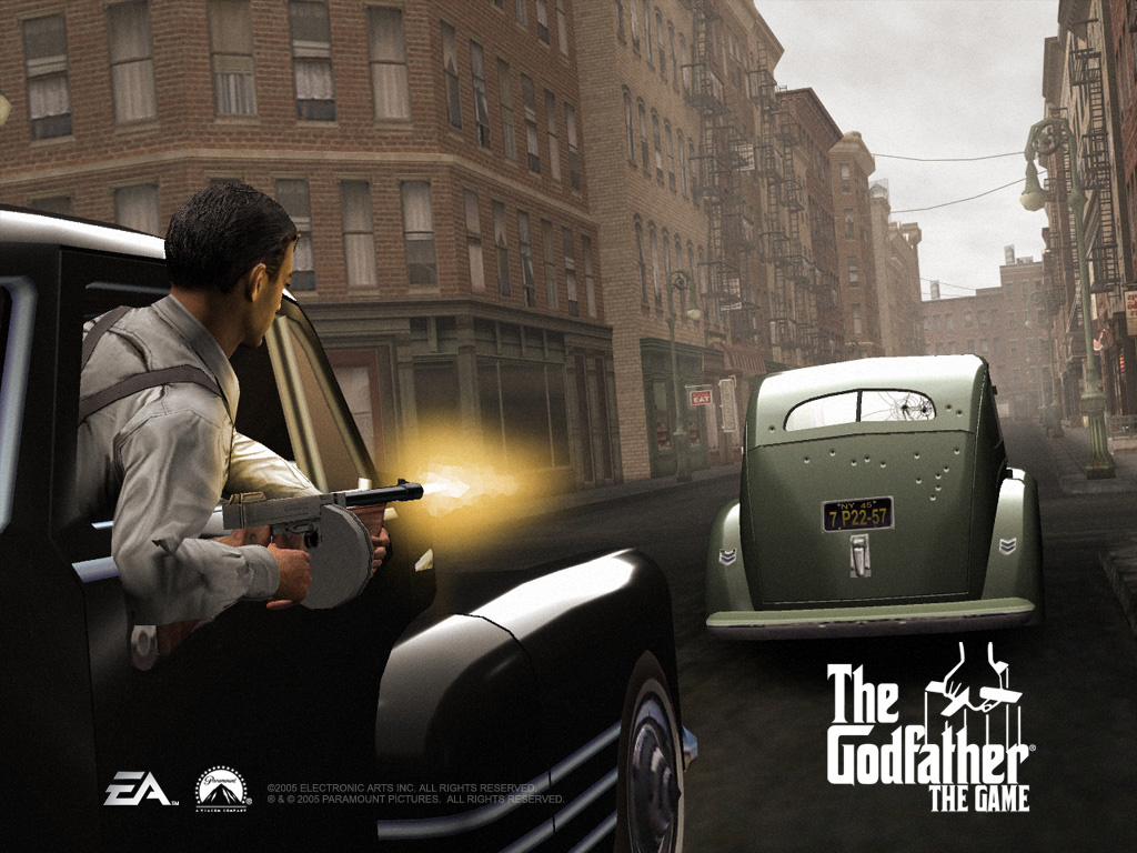 Games Wallpaper: The Godfather