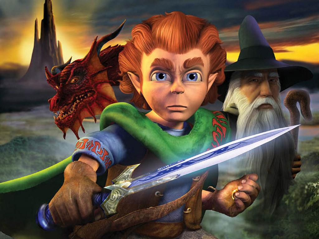 Games Wallpaper: The Hobbit