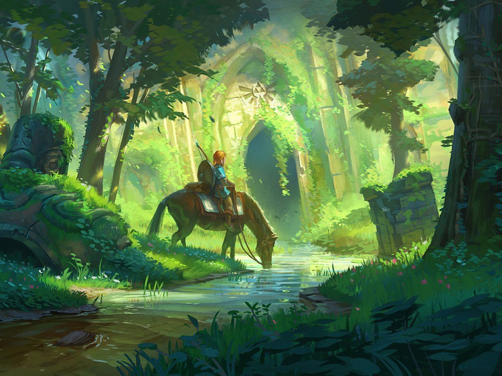 Games Wallpaper: The Legend of Zelda - The Breath of the Wild