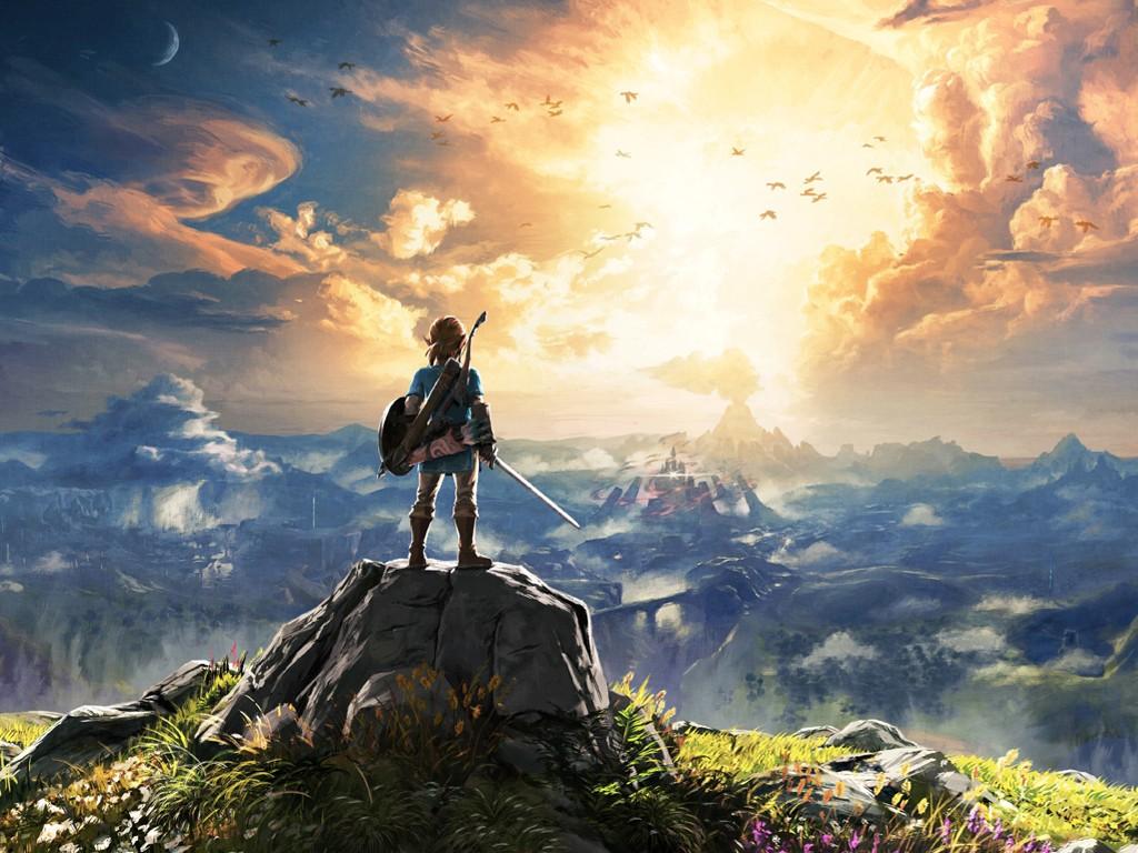 Games Wallpaper: The Legend of Zelda - The Breath of the Wild